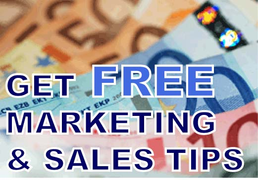 Get Free Marketing and Sales Tips